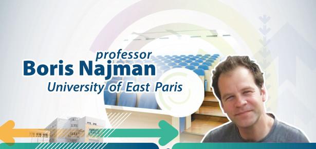 Гостујућа предавања проф. др Бориса Најмана са Универзитетa у Источном Паризу