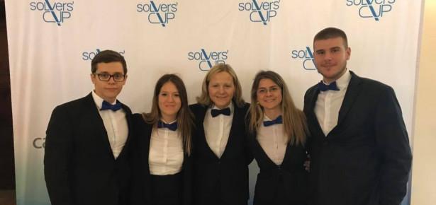 Studenti FON-a treći na međunarodnom takmičenju u rešavanju studije slučaja u Budimpešti