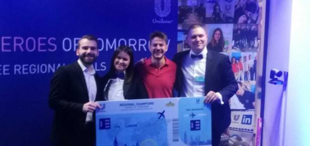 Studenti FON-a pobedom na marketing takmičenju Centralne i Istočne Evrope obezbedili plasman na svetsko takmičenje u Londonu