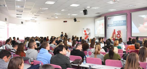 Fakultet i Coca-Cola HBC Srbija potpisali novi ugovor o strateškom partnerstvu