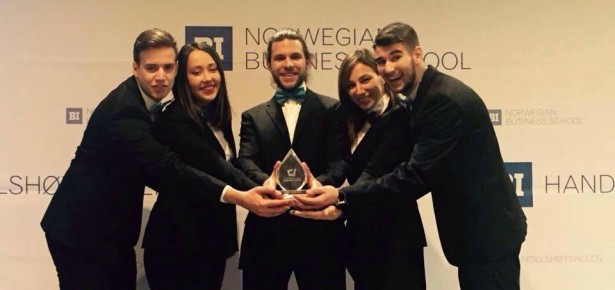FOS students won first place at BI International Case Competition 2016